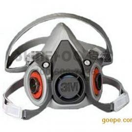 上海闵行3M6200防毒面具6200防毒半面具呼吸防护面罩