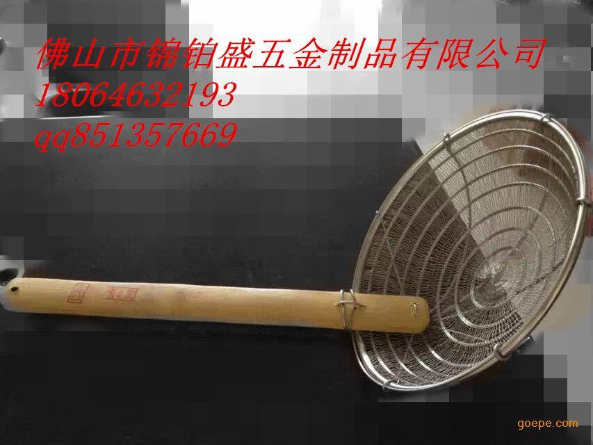 传统铁丝笊篱编织图解