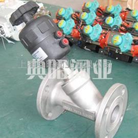 BDJ-14F手动控制气动角座阀
