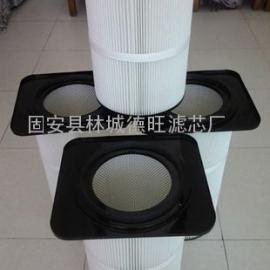 进口覆膜高精度卡盘除尘滤芯