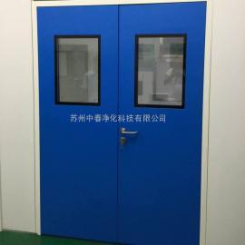无菌室净化钢质门 甲级钢制防火门 冷轧钢板洁净门
