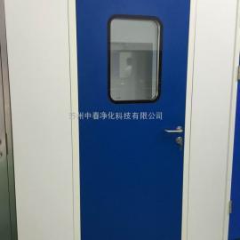 江苏净化钢质平开门 洁净实验室钢制防火门 净化单门