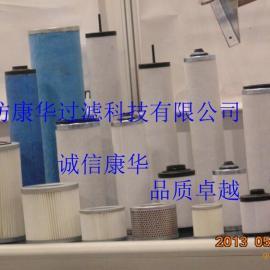 真空泵油雾分离滤芯 真空泵油气分离滤芯