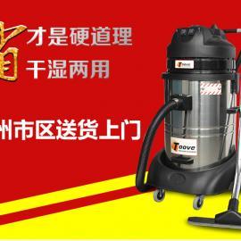 单相电24小时连续工作工业吸尘器 无刷式工业吸尘机工厂用