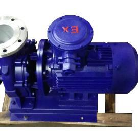 ISWHB不锈钢防爆卧式离心泵