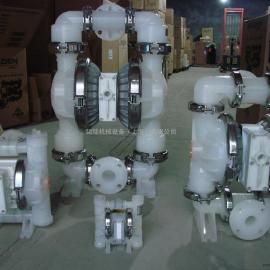 威尔顿塑料气动隔膜泵
