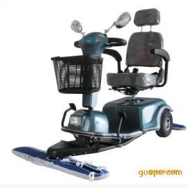 驾驶式电动拖地车 高铁候车厅酒店工厂驾驶式自动扫地机