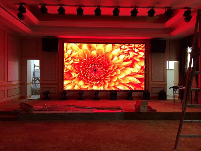 酒店舞台led显示屏