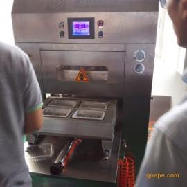 中粮精气神冷鲜肉气调保鲜包装机上海炬钢机械1D400