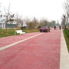 供应上海海绵城市透水砼增强剂/彩色艺术地坪每平米价格