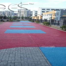 供��金山彩色透水混凝土/透水路面�r格是多少