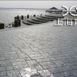 供应青浦彩色压膜混凝土/艺术压印地坪单价