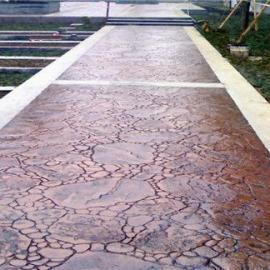 供应武汉压模地坪脱膜粉/艺术压花混凝土地坪配合比