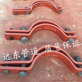 远东 D2三孔管夹 碳钢三孔短管夹