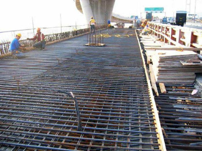 路基桥面抗裂带肋钢筋网-10个冷轧钢筋焊接网-毛边齐边均可