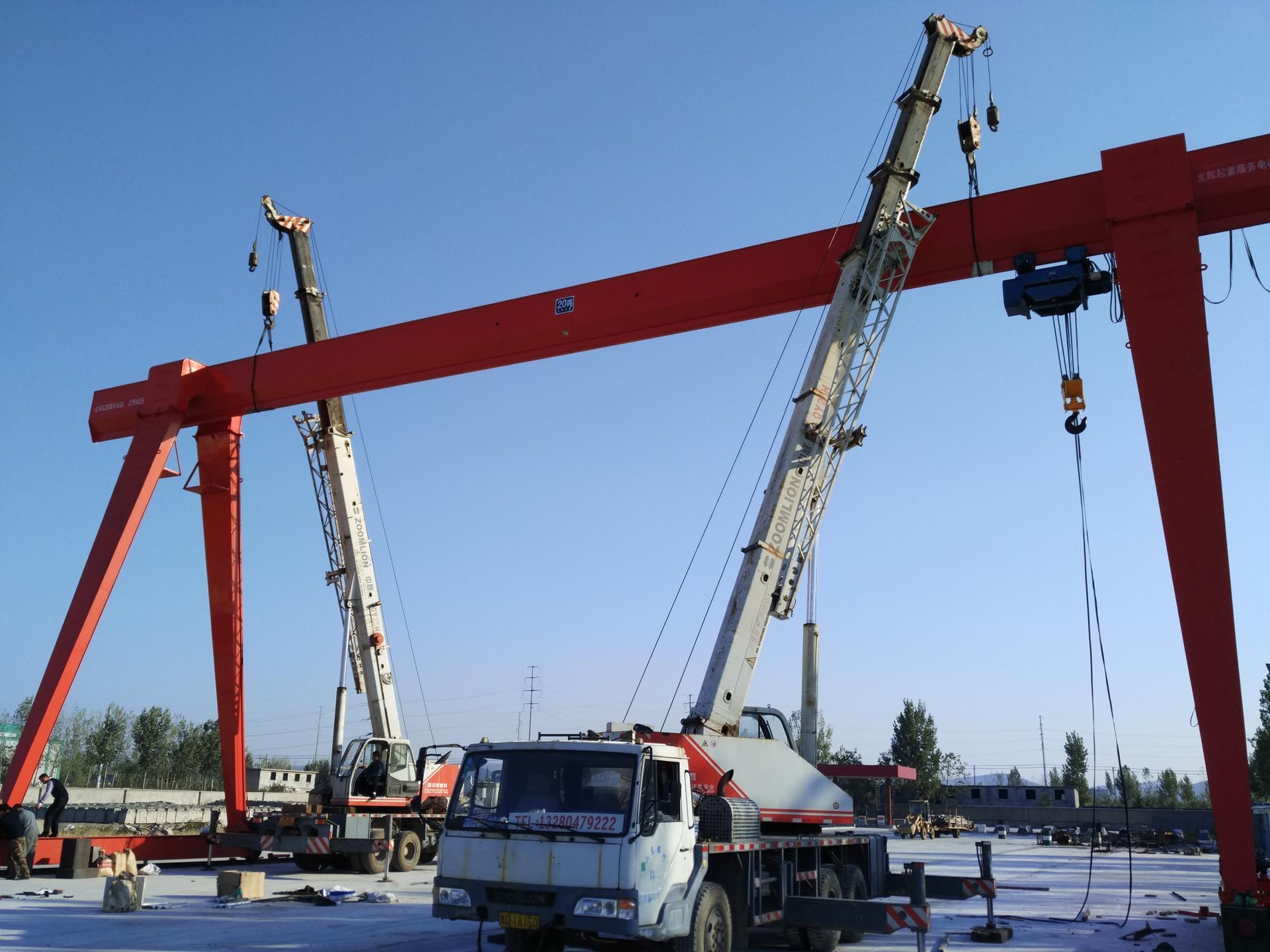 厂家直销威海龙门吊5吨10吨20吨32吨龙门吊价格