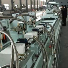 龙门移动式双主轴集箱高速数控钻铣床 硕超数控 可专业定制