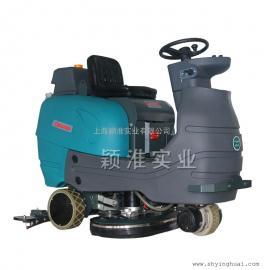 YSD9200大型电瓶洗地车停车场厂房全自动驾驶式洗地机