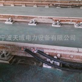 供电均回流电缆在钢轨上的连接方式