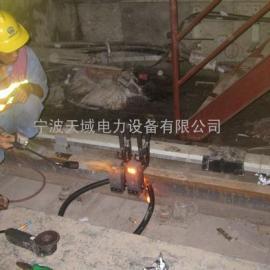 钢轨回流线放热焊接\轨道交通电缆焊接