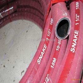 长期供应耐高温夹布蒸汽胶管 编织蒸汽胶管红色 价格优惠