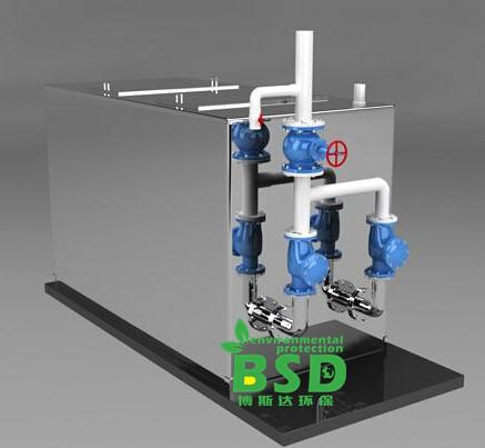 南昌全自动污水提升设备-南昌全自动污水隔油提升设备-占地面积小