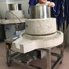 江门买肠粉磨浆机用云城电动石磨磨浆机,做肠粉豆腐均可