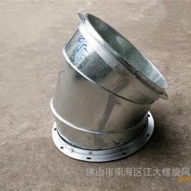 选螺旋风管及配件风管接头,首选佛山江大螺旋风管厂直接供应