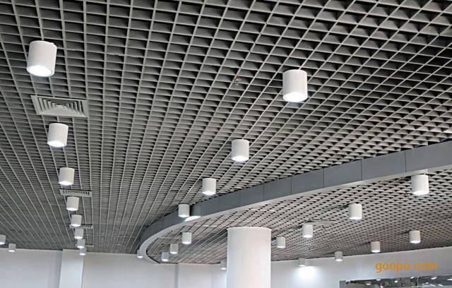 铝格栅吊顶铁格栅天花吊顶葡萄架格栏格棚网格吊顶铝扣板