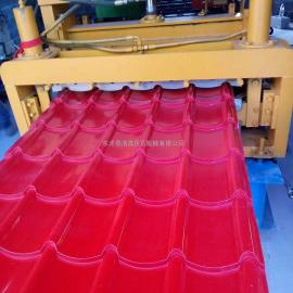 浩鑫供应800型竹节琉璃瓦设备