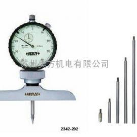 2342-202带表测深规 英示高端品质