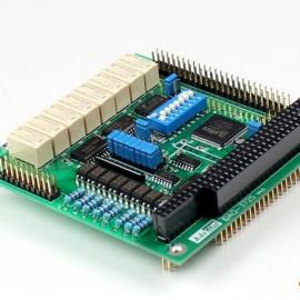 数据采集卡 PC104总线光电隔离输入继电器输出