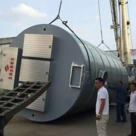 【2017新型】复合缠绕玻璃钢污水泵站
