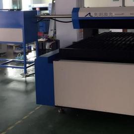 十字滑台AL1218-400瓦、600瓦木板刀模激光切割机