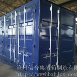 6门全新特种集装箱制造 可多门、多要求定制认准沧州信合