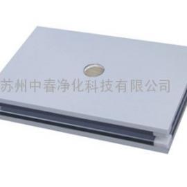北京玻镁岩棉彩钢板 洁净实验室玻镁夹芯板 防火玻镁岩棉