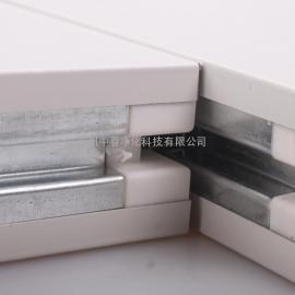 江西玻镁岩棉板 无尘车间玻镁彩钢板 双玻镁岩棉复合板