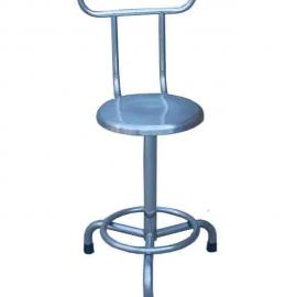 不锈钢圆凳,不锈钢带靠背圆凳