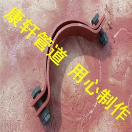基准型双螺栓管夹 A5基准型双螺栓管夹 双螺栓管夹