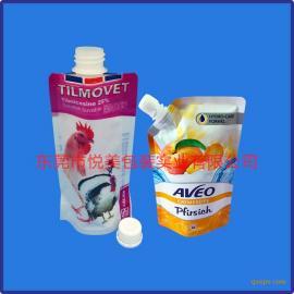 吸嘴袋厂家 各类吸嘴自立袋定制 UV印刷 PET袋