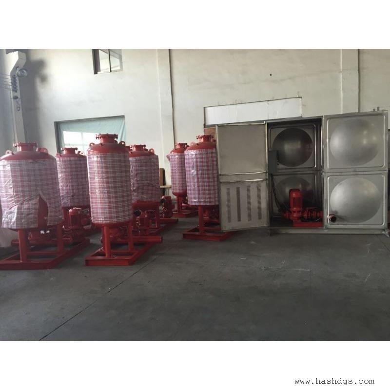 箱泵一体化泵站接管位置