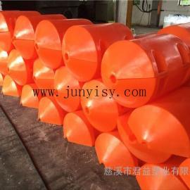 直径500*750夹管浮筒 孔径5公分塑料浮漂价格