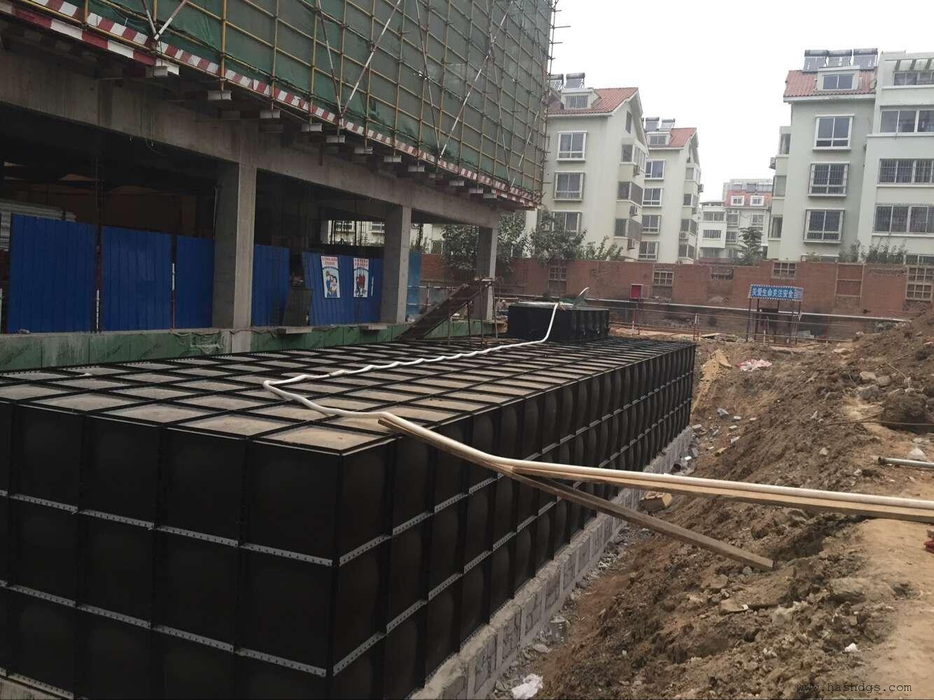 装配式复合型地埋箱泵一体化