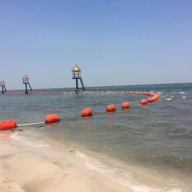 上饶水库垃圾拦截塑料浮桶 水产养殖网箱浮球 警示航道航标