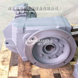 轴叶桨碳钢喷塑衬塑 桨式搅拌机斜齿轮减速机 立式搅拌机