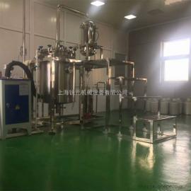 生产型植物提取精油设备│中药挥发油提取机器