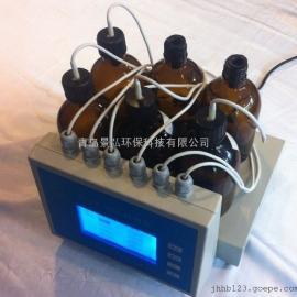 供应南方湖南水质检测仪870H型数字式BOD5测定仪