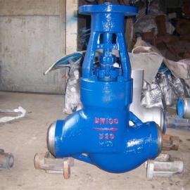 J561Y-320 DN275�泯X�高�赫羝�焊接截止�y