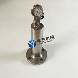 伟亚不锈钢水锤消除器9000X-16P