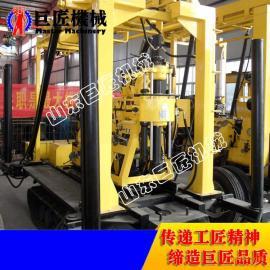 XYD-130履带式水井钻机 低价促销自行式液压打井机